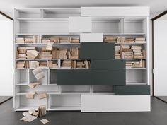 LINE Bibliothèque by ALBED by Delmonte design Daniele Lo Scalzo Moscheri