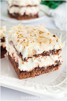 Lemon Curd Pavlova, Cookie Recipes, Dessert Recipes, Cake In A Jar, Good Food, Yummy Food, Sweet Bakery, Sweets Cake, Polish Recipes