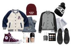 """""""winter is the best."""" by retalleyation ❤ liked on Polyvore featuring NIKE, Shine, L.L.Bean, Abercrombie & Fitch, Converse, Young & Reckless, Marc Jacobs, MAC Cosmetics and Essie"""