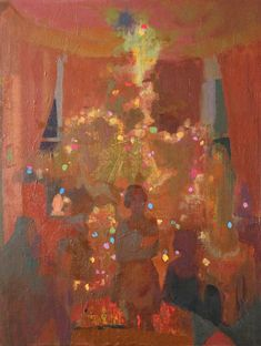 Emil Robinson, Christmas, oil on linen, 24 x 18 inches, 2014 (courtesy of the artist)