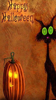 Cat-And-Mr-Pumpkins