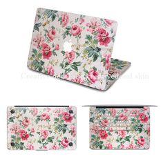 Flower sticker for MacBook.