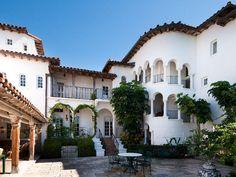 Mediterranean / Spanish architecture in Palm Beach, Florida home
