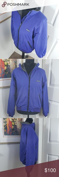 31518df90 Vintage Patagonia Bomber Jacket sz Small I have for sale a lovely vintage  dark blue Patagonia