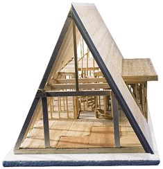 A-frame Cabin Kit 101 (W51769)