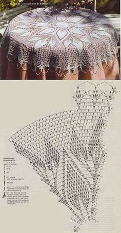 Newest Pictures Crochet Doilies Centerpi Crochet - Diy Crafts - maallure Crochet Table Topper, Crochet Tablecloth Pattern, Free Crochet Doily Patterns, Crochet Doily Rug, Crochet Doily Diagram, Crochet Dollies, Crochet Round, Crochet Chart, Thread Crochet