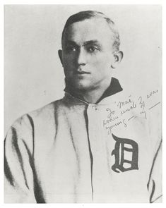 Portrait of Ty Cobb, baseball player for the Detroit Tigers - 1906