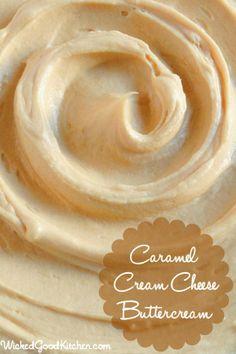 Caramel cream cheese buttercream