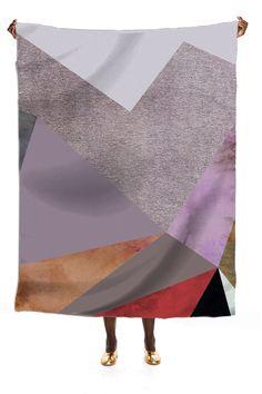 P5 scarf by Georgiana Paraschiv | Print All Over Me