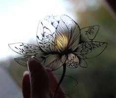 仕上げた切り絵の画像 | a lace KIRIE 蒼山日菜のブログ