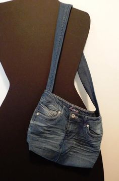 Repurposed #denim jeans!
