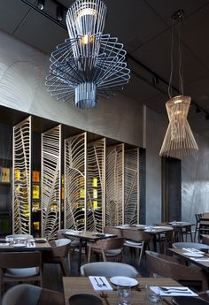 Taizu Restaurant in Tel Aviv by Pitsou Kedem Architects + Baranowitz-Amit Design Studio