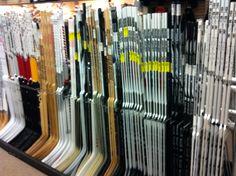 We got some sticks here.