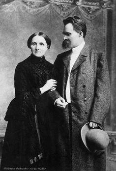 Nietzsche et sa mère