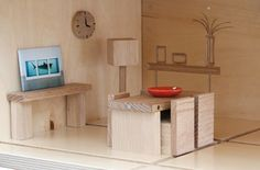 Qubis_Magnetic Toy Furniture