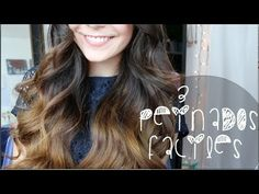 3 PEINADOS FACILES! (San Valentin) - YouTube