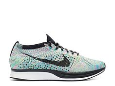 Nike Flyknit Racer 526628 304 Green StrikeBlackBlue Lagoon Size 8 * Read more reviews of the product by visiting the link on the image.(This is an Amazon affiliate link)