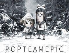 'Pop Team Epic' Anime Gets Subtitled Live-Action Promos