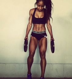 Nice MOTIVATION!!I Don't want to be thaaattt ripped but love the muscle tone and definition. I will get there!