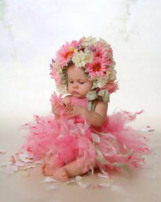 Bonnet fleur & TuTu ensemble par LillieBelleBoutique sur Etsy