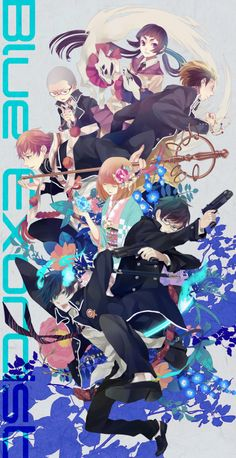 Blue Exorcist<<< Just finished it! That anime was awesome! Gotta read the manga next! Got Anime, I Love Anime, Me Me Me Anime, Manga Anime, Anime Art, Rin Okumura, Mephisto, Blue Exorcist Anime, Ao No Exorcist