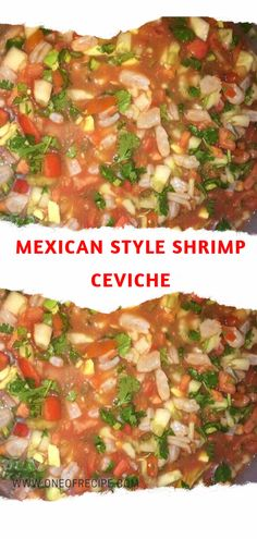 mexican shrimp recipes Mexican Style Shrimp Ceviche Page 2 One Of Recipe Authentic Mexican Recipes, Mexican Shrimp Recipes, Mexican Appetizers, Seafood Recipes, Dinner Recipes, Cooking Recipes, Cooking Tips, Ceviche Recipe Shrimp Mexican, Seafood
