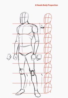 Human Figure Drawing Reference How_to_draw_a_person_whole_body_head - How to draw the human body step by step. Welcome to this step by step tutorial. Here you will learn how to draw a person from a view. Human Body Drawing, Human Anatomy Drawing, Human Figure Drawing, Figure Drawing Reference, Guy Drawing, Anatomy Reference, Drawing People, Drawing Tips, Drawing Techniques