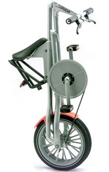 Folding bike Strida LT, Strida MAS (Mark Sanders Special), Strida SX (Xtra Speed), by Mark Sanders