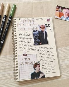 A prinCE OF CHINA ~ ~ I'm a day late and I hate myself for it #journal #bujo #kpopbujo #calligraphy #journaling #bulletjournal…