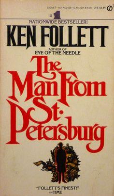 Ken Follett - The Man From St. Petersburg / #awordfromJoJo #HistoricalFiction #KenFollett