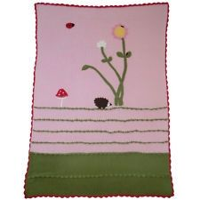 Enchanted Forest cot blanket by Powell Craft.