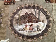 The handmade category was a sweep by Japanese quilters! It is no wonder though because they do such exquisite work. These quilts are co...