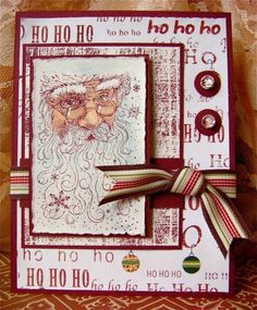 WSC66 Santa by mspfd - Cards and Paper Crafts at Splitcoaststampers