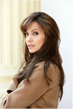 Angelina Jolie... so pretty... love her hair and color!