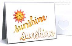 Retro Sunshine Wishes.