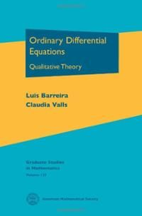 Ordinary differential equations : qualitative theory / Luis Barreira, Claudia Valls ; translated by the authors. (2012). Máis información: http://www.ams.org/bookstore-getitem/item=GSM-137