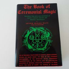 19th century demonology witchcraft occult black arts pagan vampire the book of ceremonial magic by arthur edward waite 1969 1st edition originally published in fandeluxe Image collections