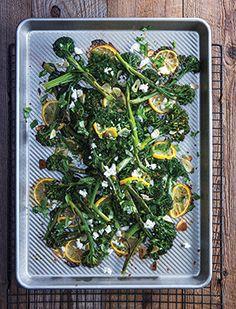 Mediterranean Roasted Broccolini