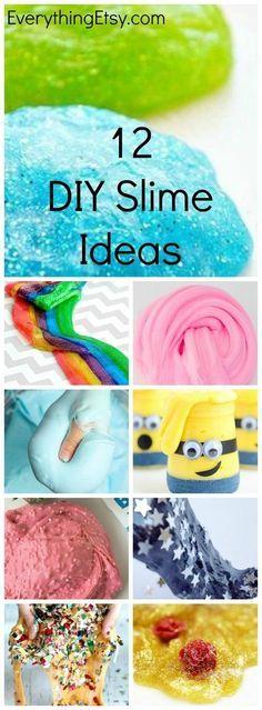 6ba2cdaab764 12 DIY Slime Ideas - Easy Recipes for Fun! EverythingEtsy.com Jednoduché  Recepty