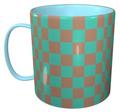 Checker Mug / #Tableware