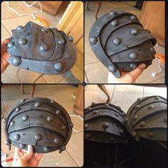 My Astrid shoulder armour made from EVA foam They still need some antiquing, and one still needs to be painted, but I'm quite happy with how they're coming along! Cosplay Diy, Cosplay Ideas, Costume Ideas, Costumes, Astrid Cosplay, Shoulder Armor, Halloween Goodies, Other Outfits, How To Train Your Dragon