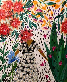 Illustration by Roeqiya Fris Kunst Inspo, Art Inspo, Art And Illustration, Deco Boheme, Creative Workshop, Wow Art, Painting & Drawing, Contemporary Art, Art Photography