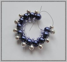 beaded donut pendant free pattern      use pattern to make necklace and bracelet
