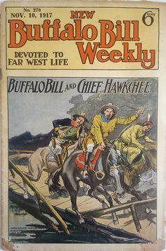 Buffalo Bill Weekly, 1917, dime novel, western