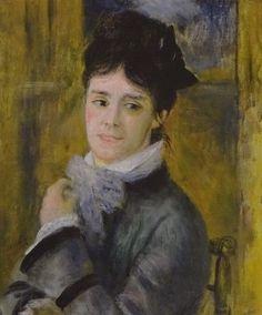 クロード・モネ夫人の肖像