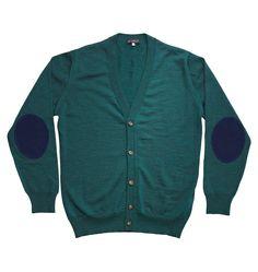 Gaspard Cardigan Green | Menswear | Sydney, Australia