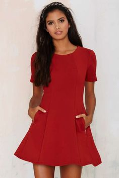 Rockwood Pleated Dress