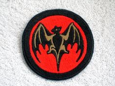 Bacardi Embroidered Patch, New for jacket, hat, vest Commercial Embroidery Machine, Machine Embroidery, Embossing Stamp, Motorcycle Patches, Cool Patches, Morale Patch, Bacardi, Joker And Harley, Denim Coat