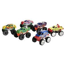 Wilko Roadsters Diecast Monster Truck 6pk