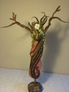 Tree Goddess by AnamCaraStudio on Etsy